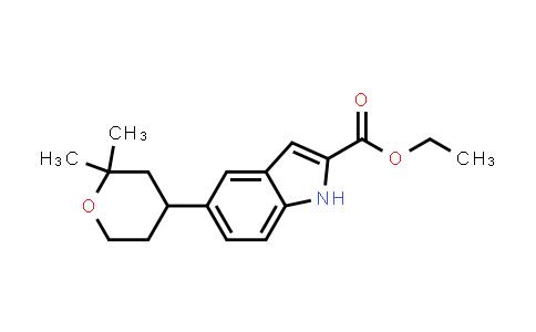 2212021-76-4 | Ethyl 5-(2,2-dimethyltetrahydro-2H-pyran-4-yl)-1H-indole-2-carboxylate