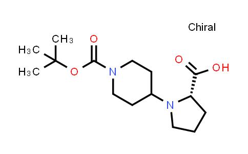 221352-39-2   (S)-1-(1-(tert-Butoxycarbonyl)piperidin-4-yl)pyrrolidine-2-carboxylic acid