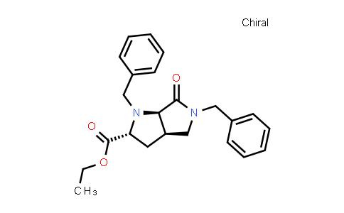 2214243-55-5   rel-Ethyl (2R,3aR,6aR)-1,5-dibenzyl-6-oxooctahydropyrrolo[3,4-b]pyrrole-2-carboxylate