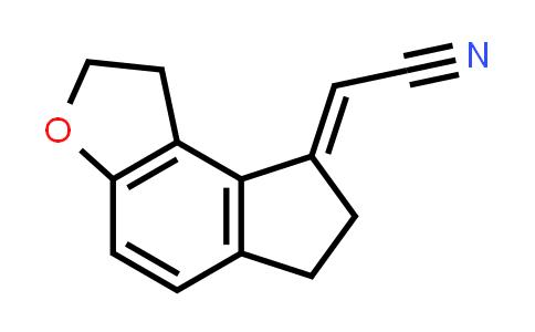 221530-44-5 | Acetonitrile, 2-(1,2,6,7-tetrahydro-8H-indeno[5,4-b]furan-8-ylidene)-