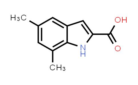 221675-45-2   5,7-Dimethyl-1H-indole-2-carboxylic acid