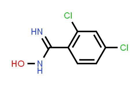 22179-80-2 | 2,4-Dichloro-N-hydroxybenzimidamide
