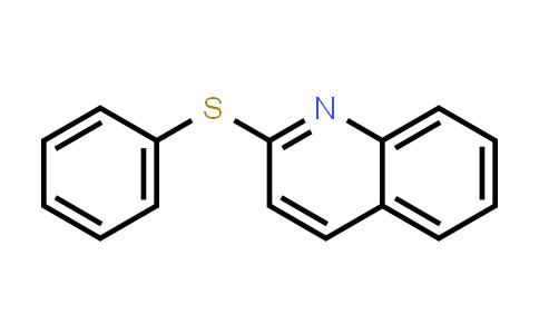 22190-12-1   2-(Phenylthio)quinoline