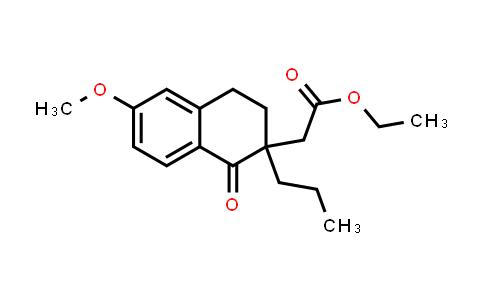 2219321-11-4 | Ethyl 2-(6-methoxy-1-oxo-2-propyl-1,2,3,4-tetrahydronaphthalen-2-yl)acetate