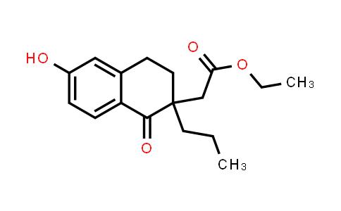 2219331-56-1   Ethyl 2-(6-hydroxy-1-oxo-2-propyl-1,2,3,4-tetrahydronaphthalen-2-yl)acetate