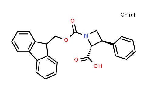 2219354-03-5   (2R,3R)-1-(((9H-Fluoren-9-yl)methoxy)carbonyl)-3-phenylazetidine-2-carboxylic acid