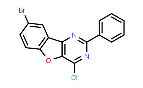 2219361-06-3 | 8-Bromo-4-chloro-2-phenylbenzofuro[3,2-d]pyrimidine