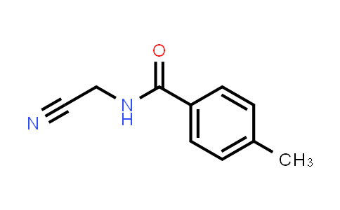 22198-21-6 | N-(Cyanomethyl)-4-methylbenzamide