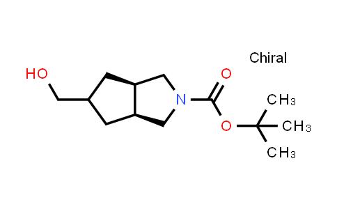 2220998-56-9   rel-tert-Butyl (3aR,6aS)-5-(hydroxymethyl)hexahydrocyclopenta[c]pyrrole-2(1H)-carboxylate