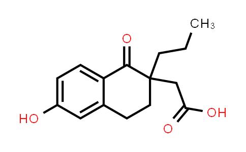 2221084-33-7   2-(6-Hydroxy-1-oxo-2-propyl-1,2,3,4-tetrahydronaphthalen-2-yl)acetic acid