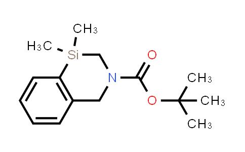 2222440-51-7 | tert-Butyl 1,1-dimethyl-1,2-dihydrobenzo[d][1,3]azasiline-3(4H)-carboxylate