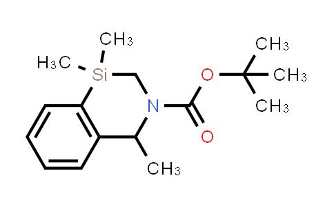 2222440-53-9 | tert-Butyl 1,1,4-trimethyl-1,2-dihydrobenzo[d][1,3]azasiline-3(4H)-carboxylate
