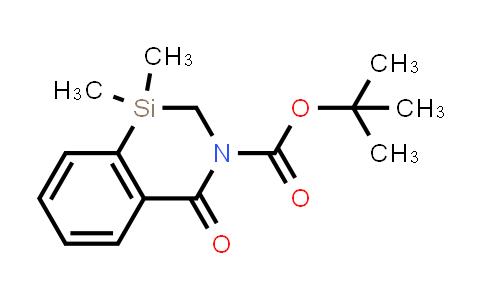 2222440-59-5 | tert-Butyl 1,1-dimethyl-4-oxo-1,2-dihydrobenzo[d][1,3]azasiline-3(4H)-carboxylate