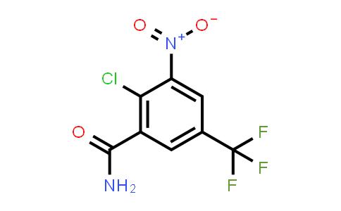 22227-47-0   2-Chloro-3-nitro-5-(trifluoromethyl)benzamide