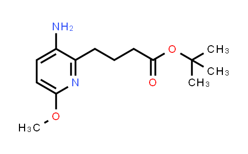 2222856-54-2 | tert-Butyl 4-(3-amino-6-methoxypyridin-2-yl)butanoate