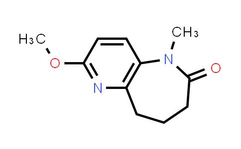 2222856-57-5 | 2-Methoxy-5-methyl-8,9-dihydro-5H-pyrido[3,2-b]azepin-6(7H)-one