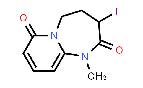 2222856-69-9   3-Iodo-1-methyl-4,5-dihydropyrido[1,2-a][1,3]diazepine-2,7(1H,3H)-dione