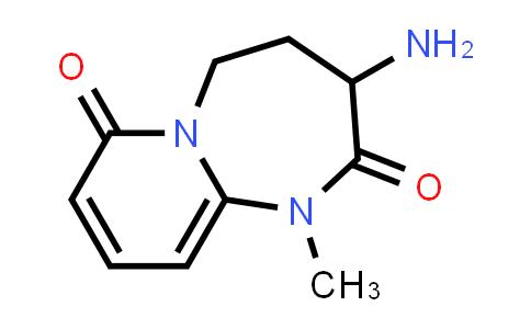 2222856-71-3   3-Amino-1-methyl-4,5-dihydropyrido[1,2-a][1,3]diazepine-2,7(1H,3H)-dione