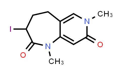 2222856-78-0   3-Iodo-1,7-dimethyl-4,5-dihydro-1H-pyrido[4,3-b]azepine-2,8(3H,7H)-dione