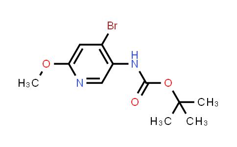 2222856-83-7   tert-Butyl (4-bromo-6-methoxypyridin-3-yl)carbamate