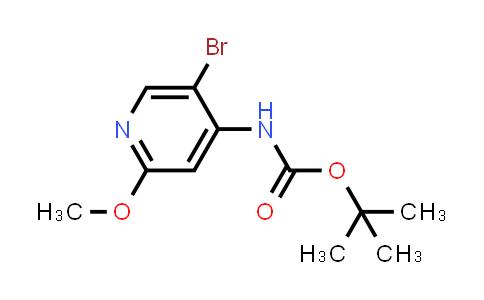 2222857-00-1 | tert-Butyl (5-bromo-2-methoxypyridin-4-yl)carbamate