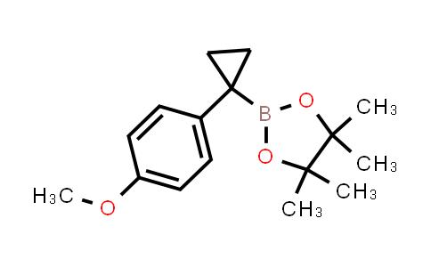 2222866-62-6   2-(1-(4-Methoxyphenyl)cyclopropyl)-4,4,5,5-tetramethyl-1,3,2-dioxaborolane