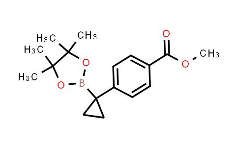 2222866-66-0   Methyl 4-(1-(4,4,5,5-tetramethyl-1,3,2-dioxaborolan-2-yl)cyclopropyl)benzoate