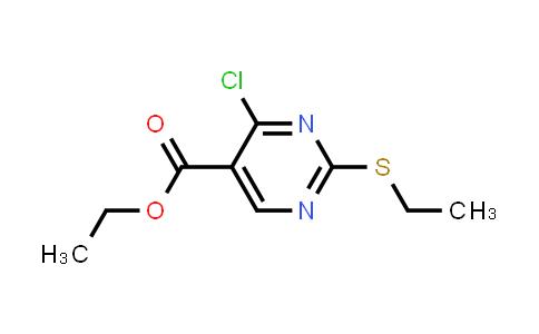 2223-96-3 | Ethyl 4-chloro-2-(ethylthio)pyrimidine-5-carboxylate