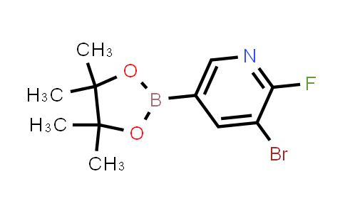 2223038-87-5 | 3-Bromo-2-fluoro-5-(4,4,5,5-tetramethyl-1,3,2-dioxaborolan-2-yl)pyridine