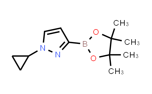 2223047-60-5 | 1-Cyclopropyl-3-(4,4,5,5-tetramethyl-1,3,2-dioxaborolan-2-yl)-1H-pyrazole