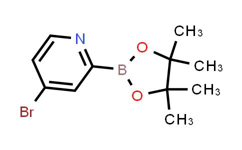 2223050-98-2   4-Bromo-2-(4,4,5,5-tetramethyl-1,3,2-dioxaborolan-2-yl)pyridine