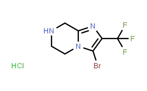 2225141-52-4 | 3-Bromo-2-(trifluoromethyl)-5,6,7,8-tetrahydroimidazo[1,2-a]pyrazine hydrochloride