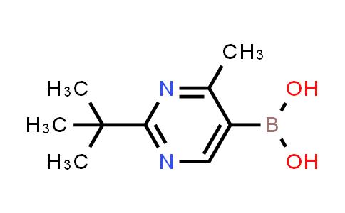 2225172-32-5 | (2-(tert-Butyl)-4-methylpyrimidin-5-yl)boronic acid