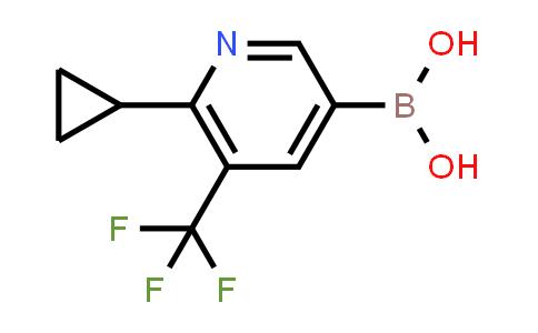 2225173-40-8 | (6-Cyclopropyl-5-(trifluoromethyl)pyridin-3-yl)boronic acid