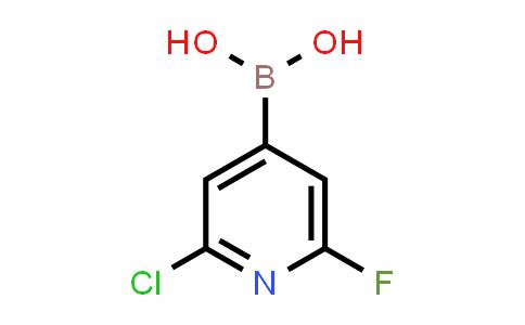 2225176-58-7 | (2-Chloro-6-fluoropyridin-4-yl)boronic acid
