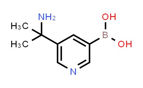 2225177-33-1 | (5-(2-Aminopropan-2-yl)pyridin-3-yl)boronic acid