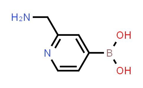 2225178-67-4   (2-(Aminomethyl)pyridin-4-yl)boronic acid