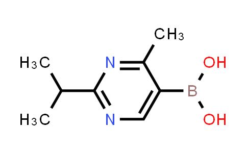 2225181-39-3   (2-Isopropyl-4-methylpyrimidin-5-yl)boronic acid