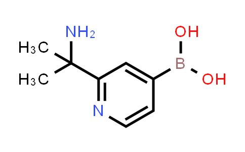 2225181-41-7   (2-(2-Aminopropan-2-yl)pyridin-4-yl)boronic acid