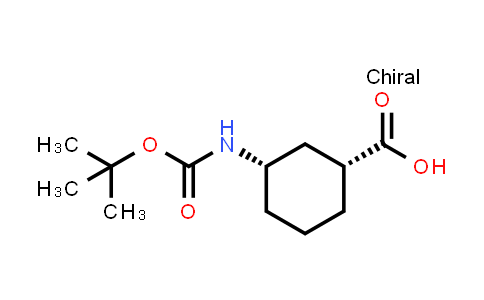 222530-39-4   (1R,3S)-3-((tert-Butoxycarbonyl)amino)cyclohexanecarboxylic acid