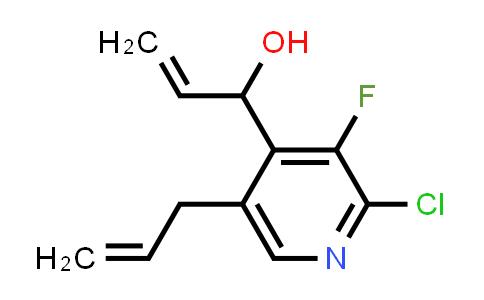 2226541-27-9   1-(5-Allyl-2-chloro-3-fluoropyridin-4-yl)prop-2-en-1-ol