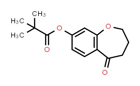 2226905-01-5 | 5-Oxo-2,3,4,5-tetrahydrobenzo[b]oxepin-8-yl pivalate