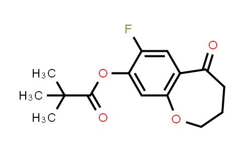 2226905-07-1 | 7-Fluoro-5-oxo-2,3,4,5-tetrahydrobenzo[b]oxepin-8-yl pivalate