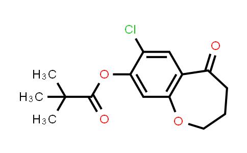 2226905-13-9 | 7-Chloro-5-oxo-2,3,4,5-tetrahydrobenzo[b]oxepin-8-yl pivalate