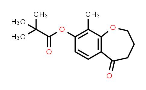 2226905-37-7 | 9-Methyl-5-oxo-2,3,4,5-tetrahydrobenzo[b]oxepin-8-yl pivalate