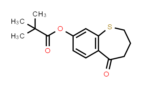 2226905-43-5   5-oxo-2,3,4,5-tetrahydrobenzo[b]thiepin-8-yl pivalate