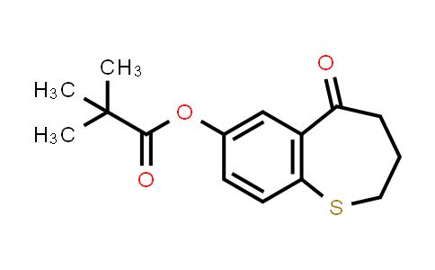 2226905-50-4   5-oxo-2,3,4,5-tetrahydrobenzo[b]thiepin-7-yl pivalate