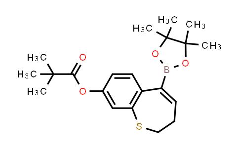 2226905-78-6 | 5-(4,4,5,5-Tetramethyl-1,3,2-dioxaborolan-2-yl)-2,3-dihydrobenzo[b]thiepin-8-yl pivalate