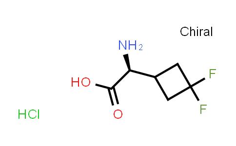 2227197-61-5 | (S)-2-Amino-2-(3,3-difluorocyclobutyl)acetic acid hydrochloride