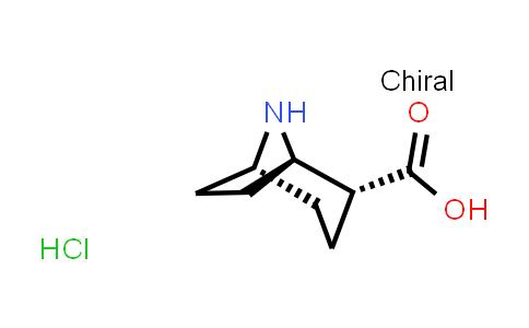 2227199-30-4   (1R,2R,5R)-8-Azabicyclo[3.2.1]octane-2-carboxylic acid hydrochloride